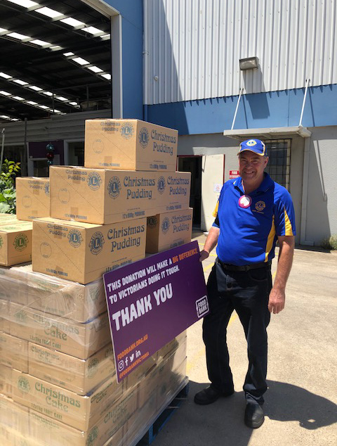 Following on from the successful 2020 Donate a cake drive which saw 857 Lions club Christmas cakes delivered to Food Bank Victoria, we are hoping with your help to reach the 1000 donation cakes for the 2021.